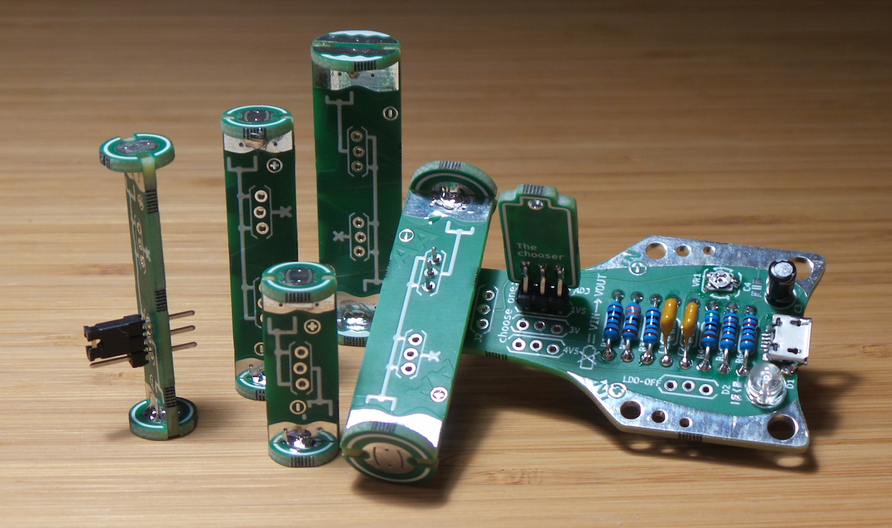LEAP#311 building the #BoldportClub Juice box - AA, AAA, A23, CR2032 battery stand-in