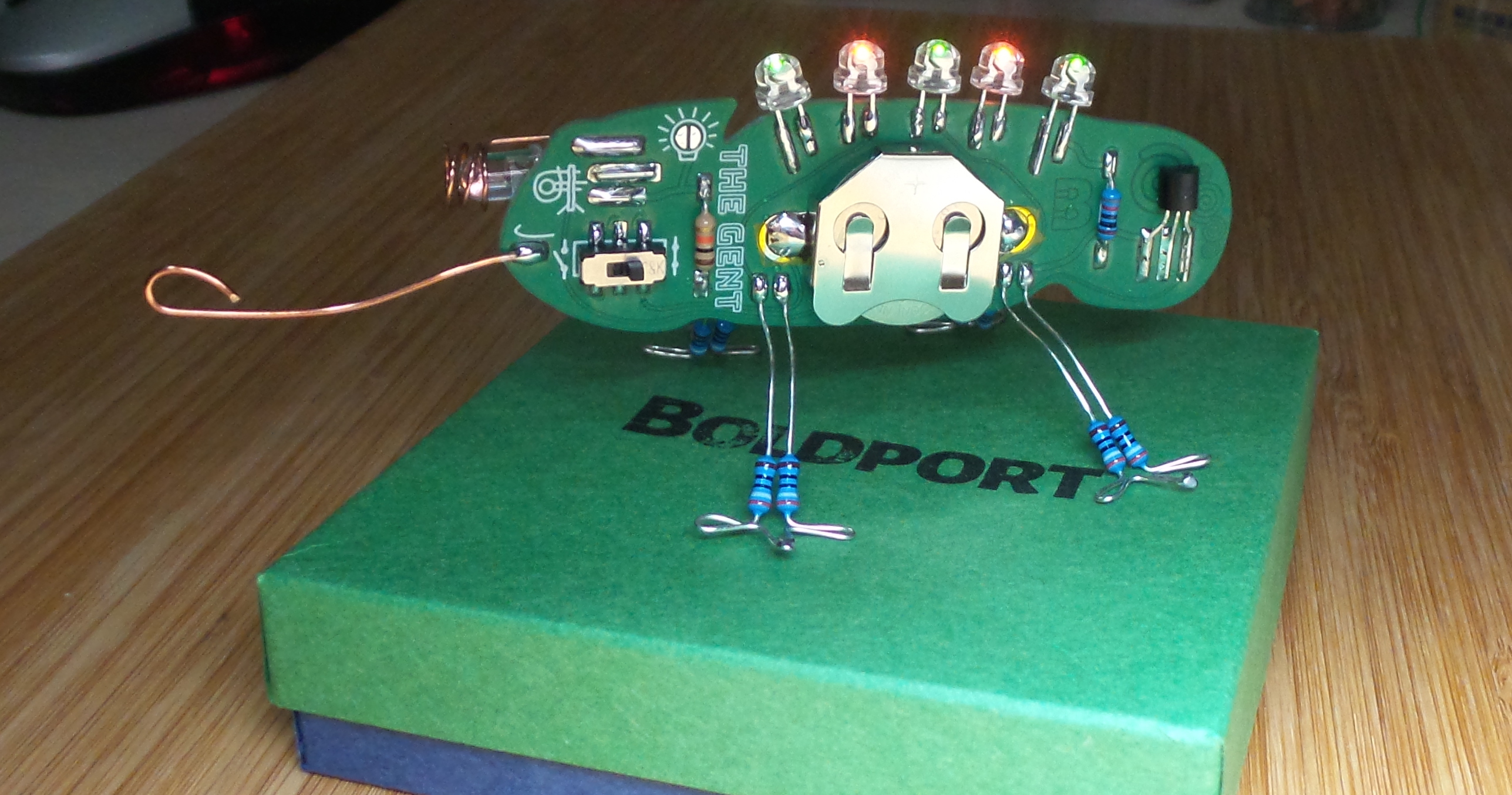 LEAP#284 any desk, bookcase or window sill deserves a #BoldportClub Gent