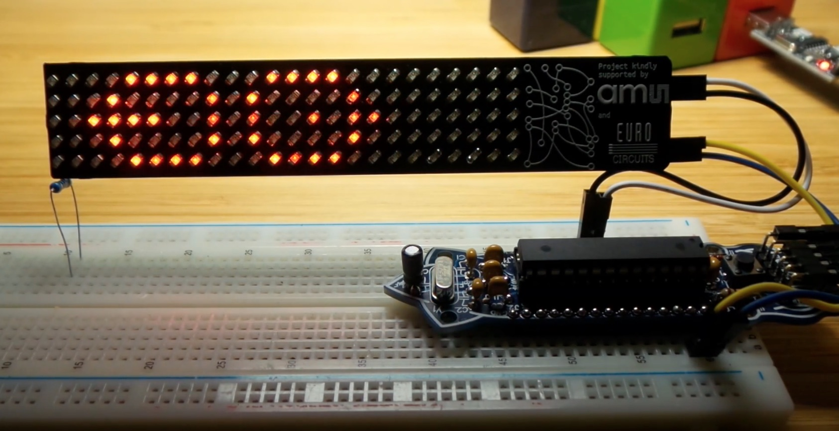 LEAP#302 a Conway's Game of Life demo for the #BoldportClub Matrix. Because every LED matrix needs one