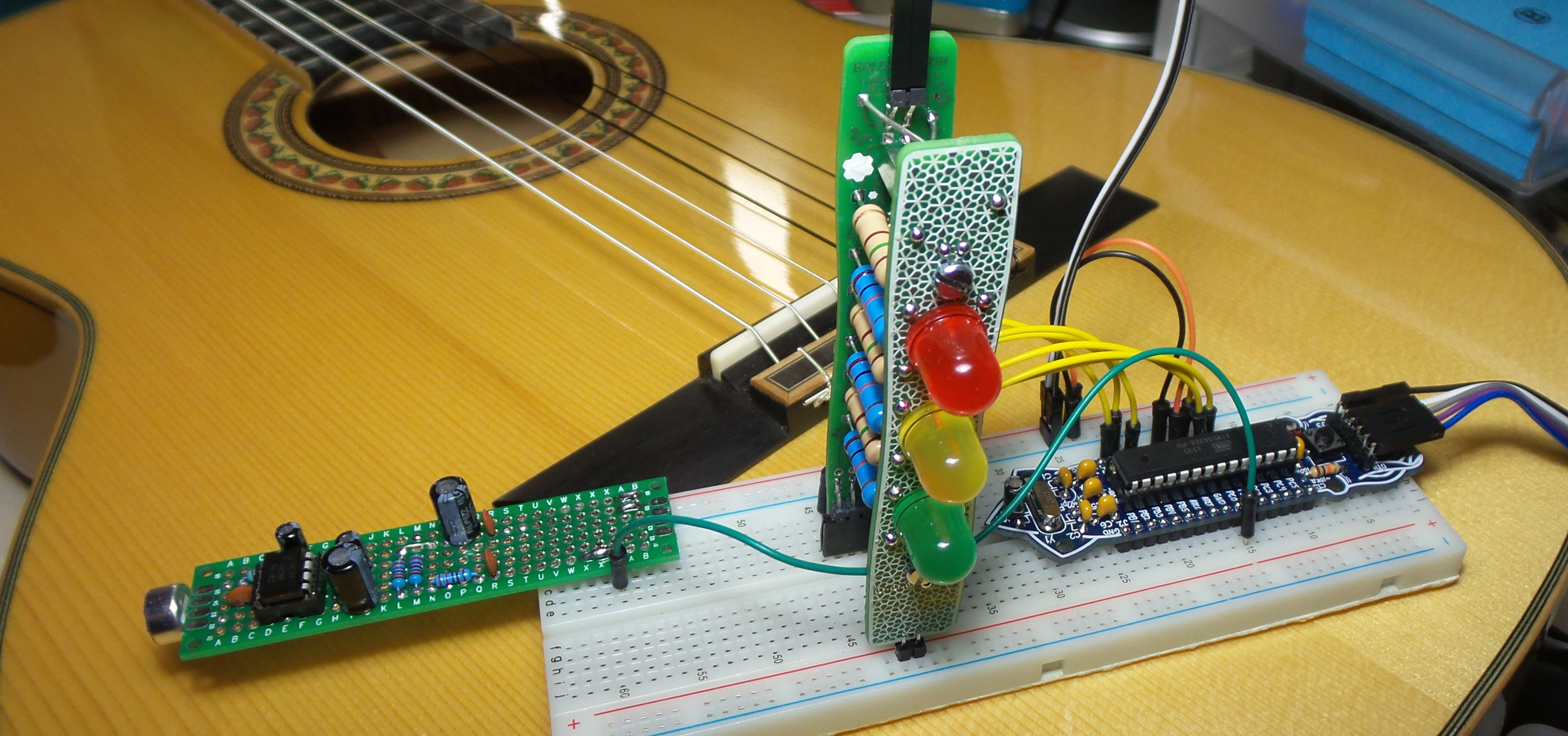 LEAP#271 guitar tuning with the #BoldportClub Cordwood