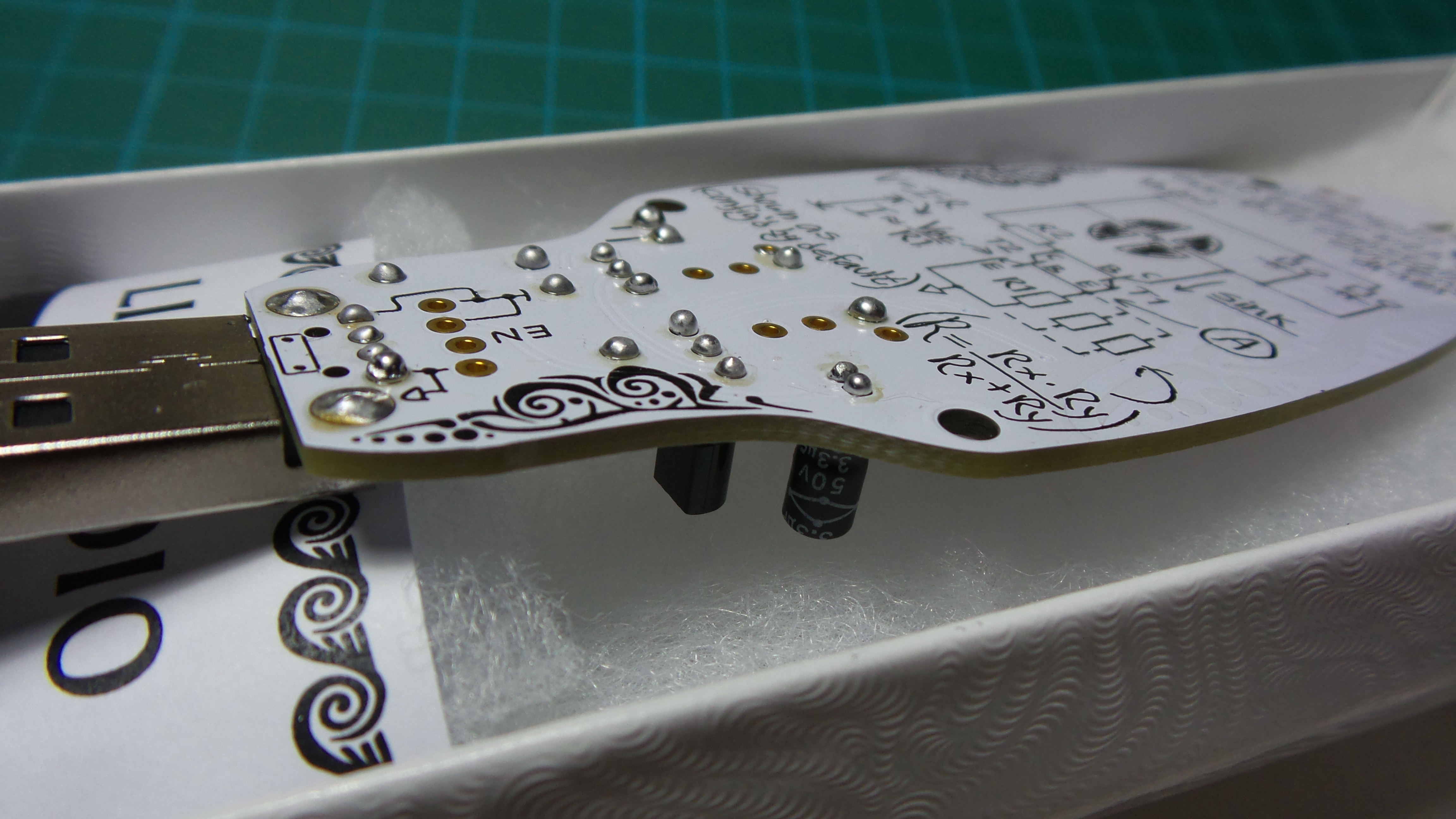 embossed flair for your PCB design? the #BoldportClub LigEmDio