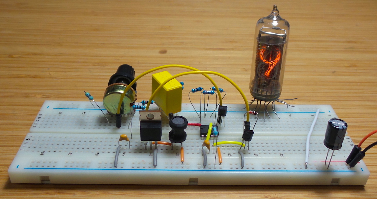 Nixie Power Supply - 555 Timer Version