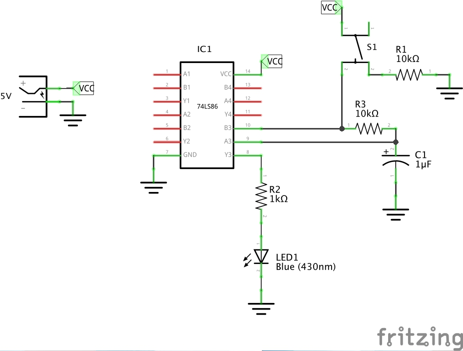 LEAP#488 Xor Schematic on