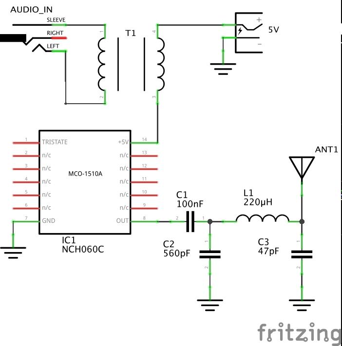 Am Radio Transmitter Schematic